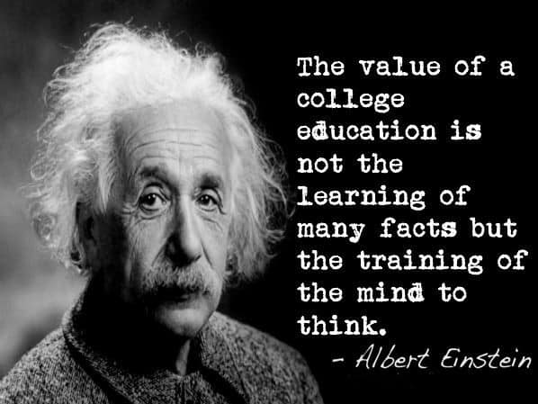 family law appraisal quote from Einstein