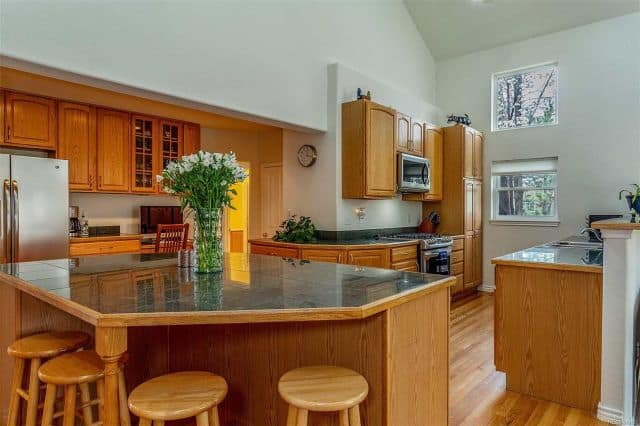 Remodeled Kitchen from 1939 Home Styles Home