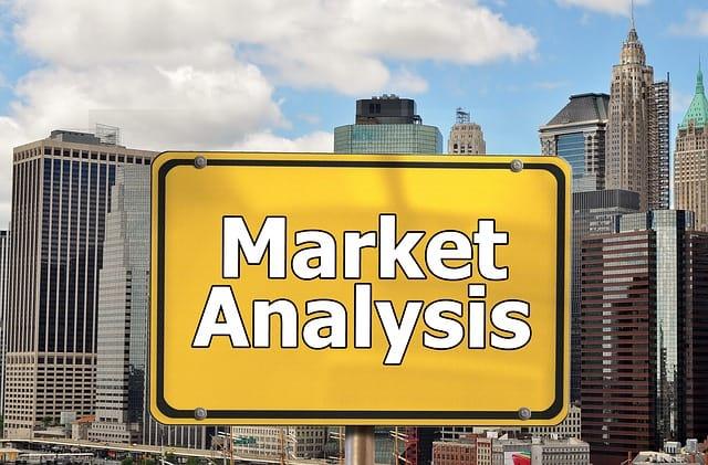 Market Analysis Printed Sign